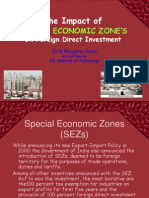 Impact of Special Economic Zones on Fdi in India