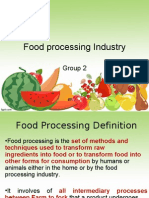 Indian Food Processing Industry