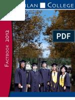 Gavilan College Fact Book 2012