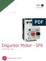 GE Disjuntor Motor SFK