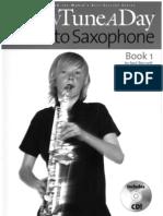 A New Tune a Day for Alto Saxophone - Book 1