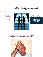Subject-Verb Agreement Shorter Version