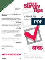 SurveyTips Booklet