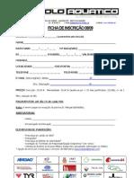 Ficha de Inscrição 08-09