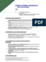 CV de Julio Stelardo