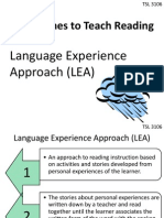 Approaches to Teach Reading 