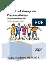 Manual de Liderança de Pequenos Grupos