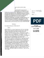 NYU Article 78 Verified Petition