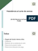 08a - Resistencia Al Corte de Arenas