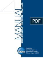 NCAA Division I Manual