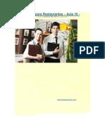 Inglês para Restaurantes