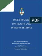 Public Policies Health Prison En