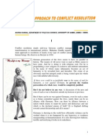 Conflict Resolution Gandhian Approach2