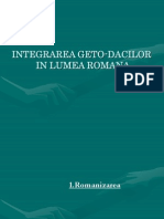 Integrarea Getodacilor in Lumea Romana