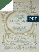 Austen Pride and Prejudice Illustrations
