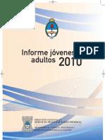 INFORME JOVENES ADULTOS 2010. SPF ARGENTINA