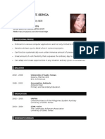 Shella Senga Resume