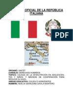 POSICIÓN OFICIAL DE LA REPUBLICA ITALIANa desnutricion.docx