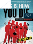 THIS IS HOW YOU DIE –Preview Story 5 - TETRAPOD