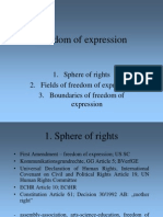 47 Freedom of Expression
