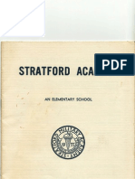 Stratford Catalog Outside Cover