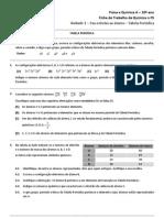 Ficha de trabalho 5 - TP - organização dos elementos químicos