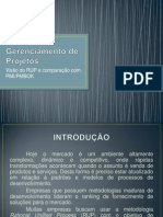 Gerenciamento de Projetos RUP - PMIPMBoK