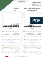 Epson PowerLite 3020 calibration report