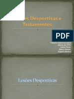 Lesões Desportivas e Tratamentos