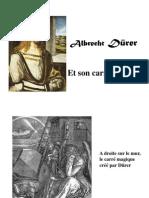 Carré magique de Dürer