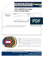 Lower C All-Star Order Form