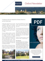 JDW Oxford Newsletter