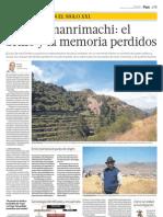 Los Huamanrimachi, el brillo y la memoria perdidos