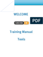 Subscribe-HR Tools Help Manual