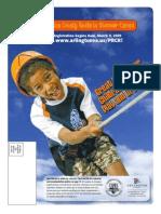 Final Summer 2009 Camps Catalog
