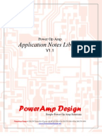 PowerOpAmpDesigns Application Notes Library v1-0-1