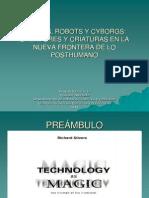 Golems, Robots y Cyborgs