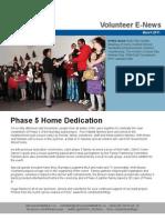 Volunteer Newsletter 2011