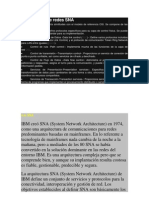 Arquitectura de Redes SNA