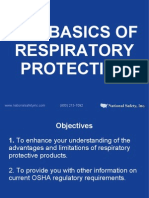 The Basics of Respiratory Protection