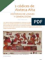 Codices Mixteca Alta