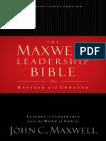 Maxwell Leadership Bible - John