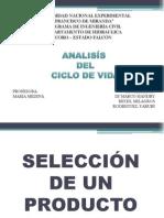 Presentacion Analisis Del Ciclo de Vida (Ambiental)
