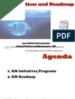 KM InitiativeRoadmap