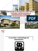 Metodologia de Desempenho e NBR 15575