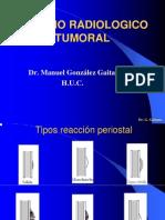 Estudio Radiologico Tumoral oseo
