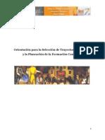 Orientación selección TR y planeación FC EU 2012