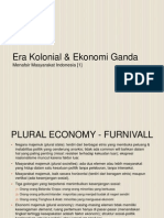 Menafsir Masyarakat Indonesia [1] - Era Kolonial & Ekonomi Ganda.pptx