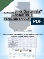 Femicidio en Guatemala
