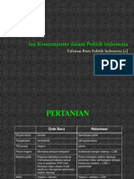 Tafsiran Baru Politik Indonesia [1] - Isu-Isu Kontemporer.pptx